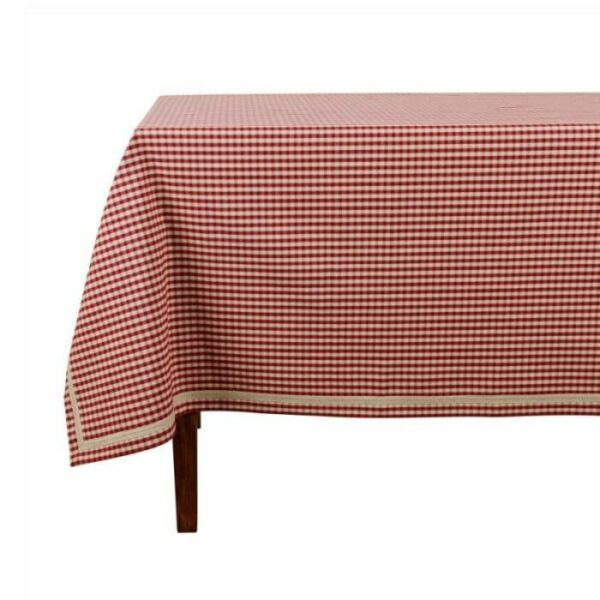 Nappe rectangulaire mamie carreaux