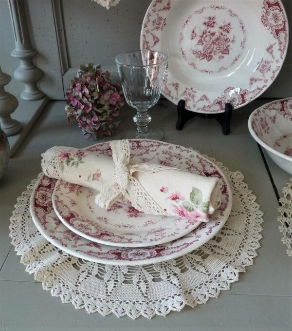 assiette plate clothilde
