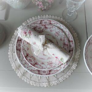 assiette dessert clothilde faïence