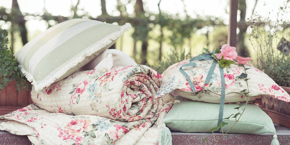 coussin shabby chic et campagne chic